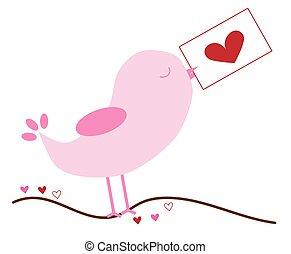 Love Bird Note