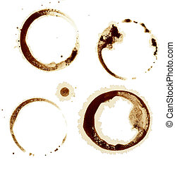 coffee stains group food beverage drink - close up of coffee...