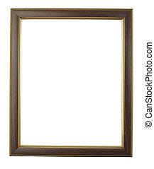 wooden frame art decoration gallery - close up wooden frame...