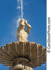 Salzbourg, résidence, Autriche, fontaine, residentplatz,...
