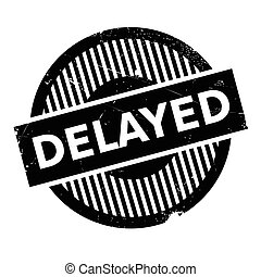 Delayed rubber stamp