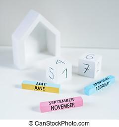 wooden perpetual calendar - handmade wooden perpetual...