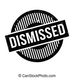 Dismissed rubber stamp. Grunge design with dust scratches....
