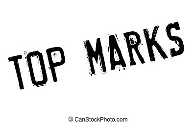 Top Marks rubber stamp