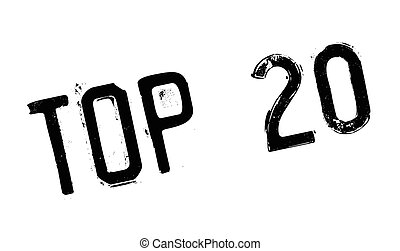 Top 20 rubber stamp