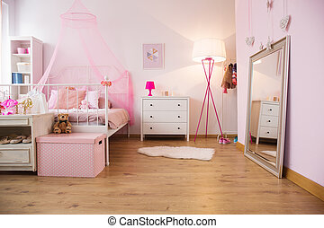 Little princess apartment with bed - Little princess...