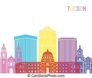 Tucson_V2 skyline pop - Tucson V2 skyline pop in editable...