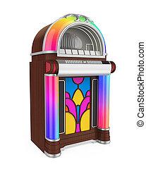 Vintage Jukebox Radio