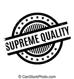 Supreme Quality rubber stamp. Grunge design with dust...