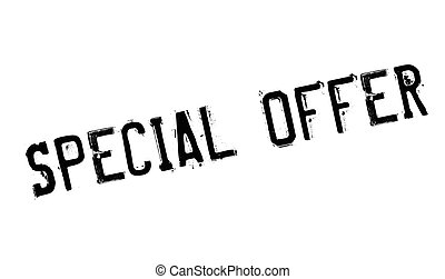 Special Offer rubber stamp