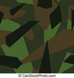 Forrest - Seamless vector camouflage series - Forrest
