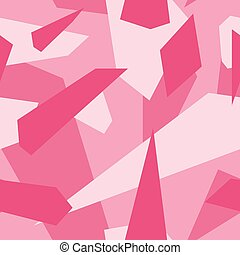 Pink - Seamless vector camouflage series - Pink