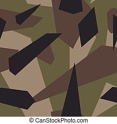 US Multi Cam - Seamless vector camouflage series - US Multi...