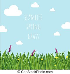 Ester spring vector seamless  background.