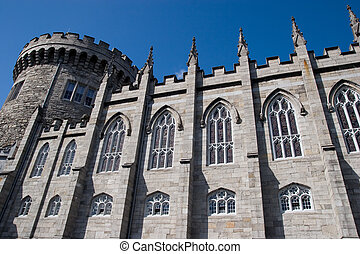 Dublin Castle - The Dublin Castle in Dublin, Ireland