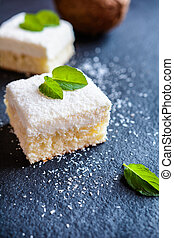 Cake with coconut and ricotta - Delicious cake with coconut...