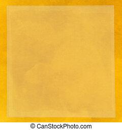 carta impregnata di colore giallo
