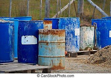 Old Rusty Barrels