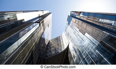 High tech building - A high tech building