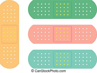 Colorful Sanitary Adhesive Plasters