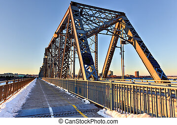 Alexandra Bridge - Ottawa, Canada - Alexandra Bridge...
