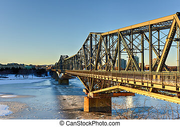 Alexandra Bridge - Ottawa, Canada - Alexandra Bridge...