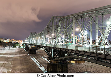 Alexandra Bridge - Ottawa, Canada - Alexandra Bridge at...