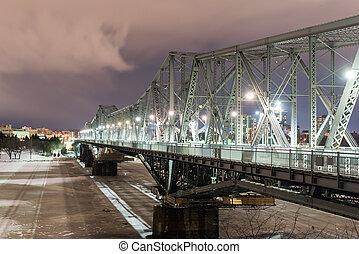 Alexandra Bridge - Ottawa, Canada - Alexandra Bridge at...