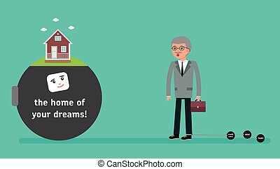 The boss with the smallest debt wants a home loan. Your...