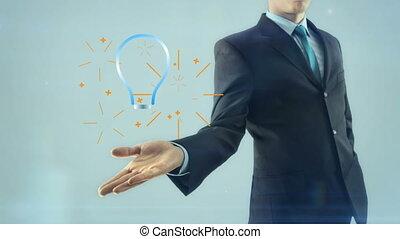 Business man businessman inspiration idea gear team work...