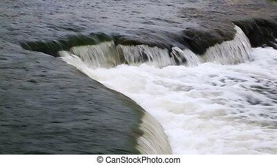 Ledge Plunge Loop - Loop features water splashing over an...