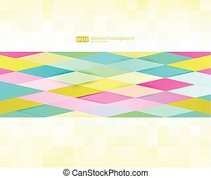 Abstract geometric background. Modern overlapping triangles. Unusual color shapes for your message. Pattern design for banner, poster, flyer, card, postcard, cover, brochure.