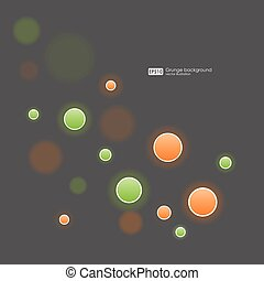 abstract bubbles background vector.