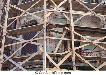 Restoration - Picture of a historical building in the...