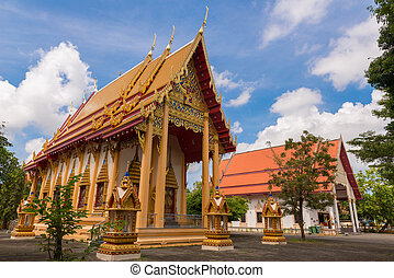 Wat Phra Thong Temple at Phuket, Thailand
