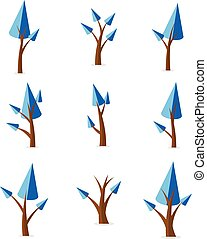 Collection of tree set various vector
