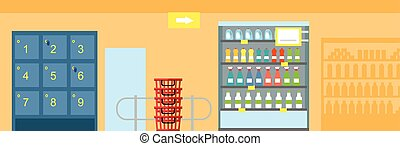 Supermarket Interior Design - Supermarkets and grocery...