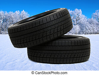 tyres for car on snow