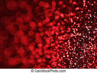 red lights background - Defocused abstract red lights...