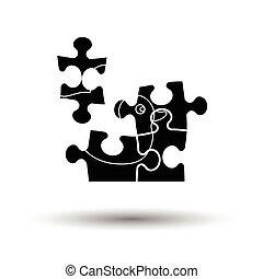Baby puzzle ico