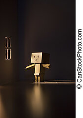 Danbo is in the room at morning