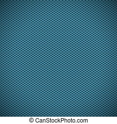 Blue carbon texture fiber background. Vector illustration