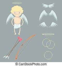 A set for angel boy