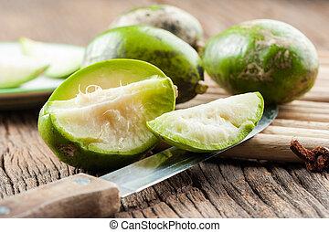 Makok (hog plums) - Makok (hog plums or spanish plums) fruit...