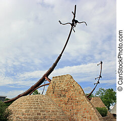 At The Forks - Famous sculptures at the historical forks in...