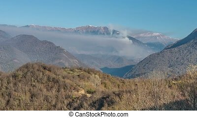 Abkhazia Caucasus Mountains - Natural landscape. Abkhazia...