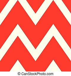 A beautiful pattern of white and red lines. Vector...