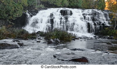 Michigans Bond Falls Loop - Loop features Bond Falls, a very...
