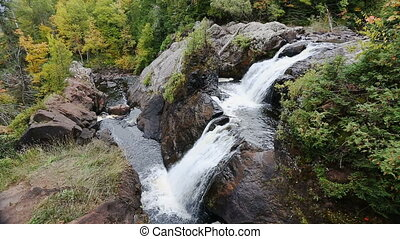 Gabro Falls Loop - Gabbro Falls is a tiered waterfall...