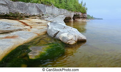 Paradise Coast Loop - Loop features a rocky, Upper Peninsula...